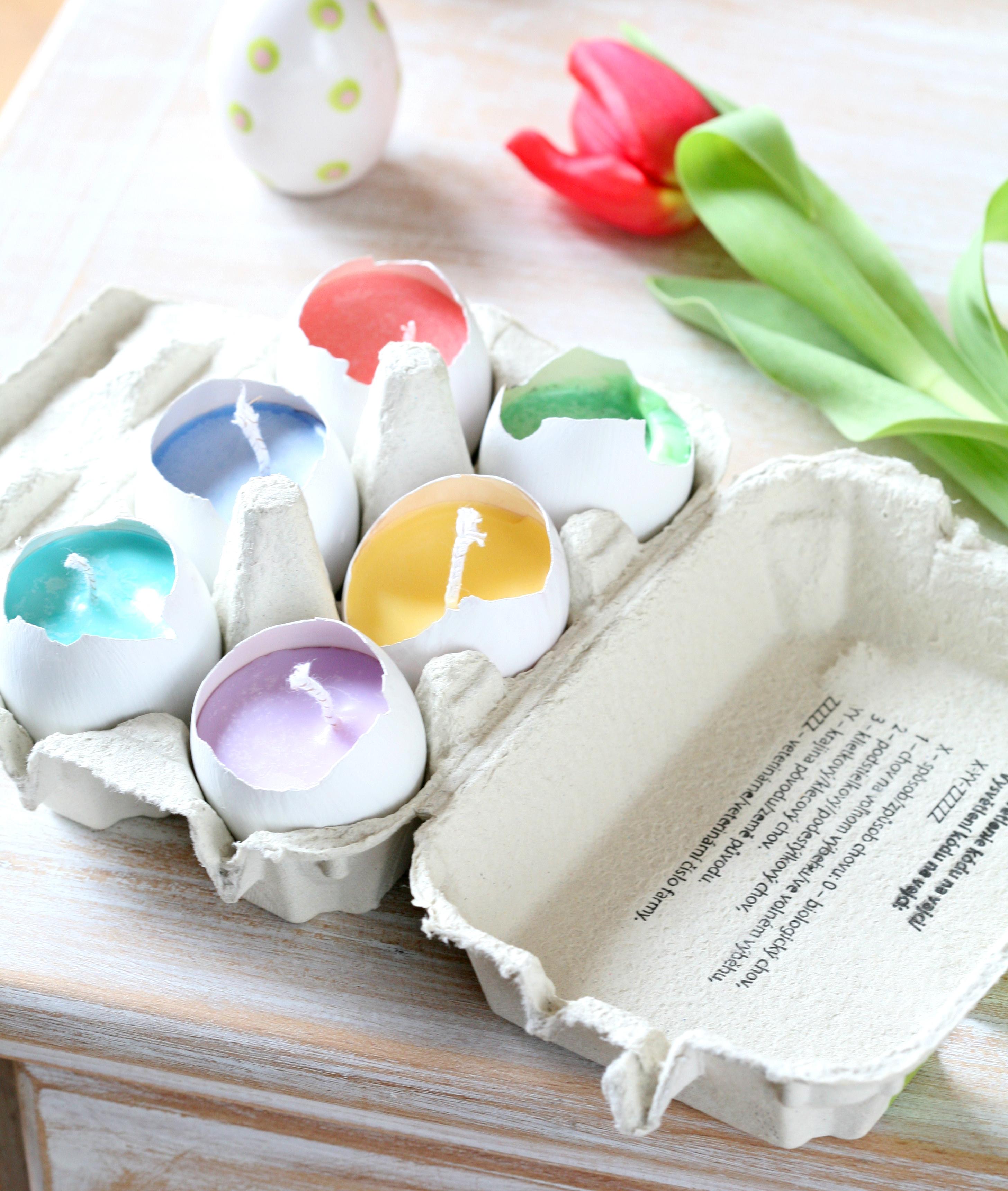 Velikonoční Falešný Patchwork, Vajíčka
