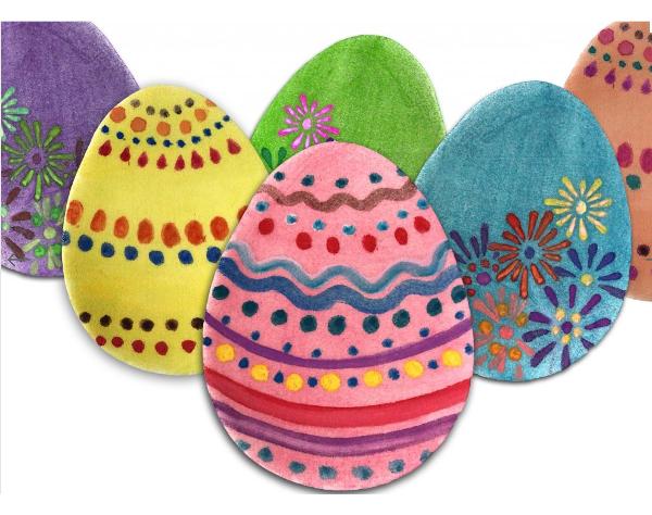Zdobení Vajíčka Ozdobnou Stuhou – Domácí Nápady, Vajíčka
